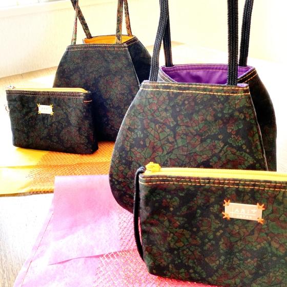 【愛知県 T様】袋帯手提げトートバッグ