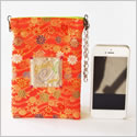 Nishijin   Smartphone Pouch [for iPhone6 & Android]