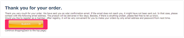7. Receive confirmation e-mail